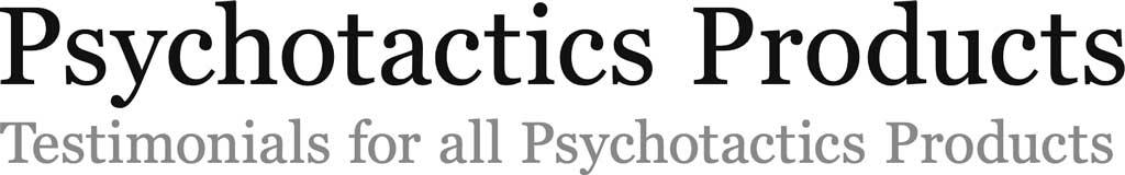 Psychotactics  Products