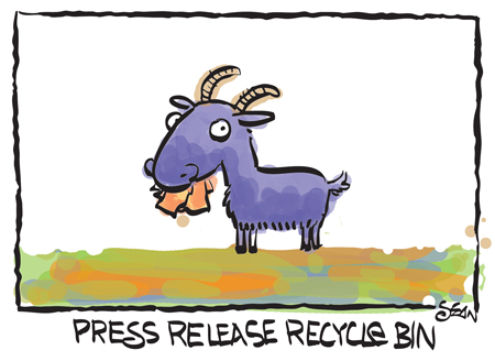 Press release recycle bit
