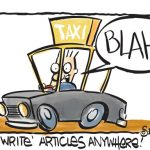 The Article Writing Challenge – How To Write Articles While Driving A Taxi