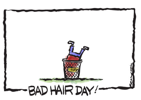 bad hair day, customer retention, marketing strategy