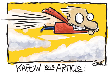 Article Writing: The Huh Factor