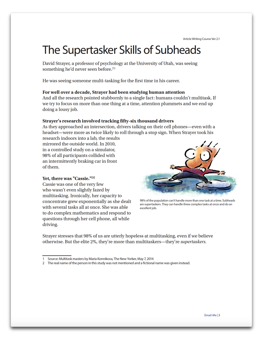 Producing a Successful College Level Book Report