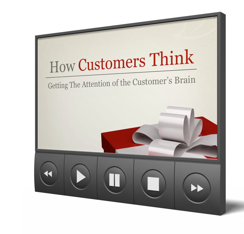Brain Audit Presentations: How Customers Think