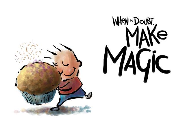 Postcard - Make Magic