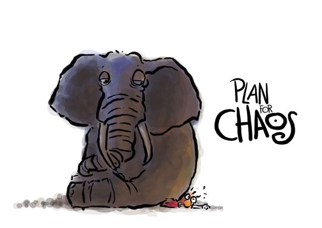 Postcard - Plan For Chaos