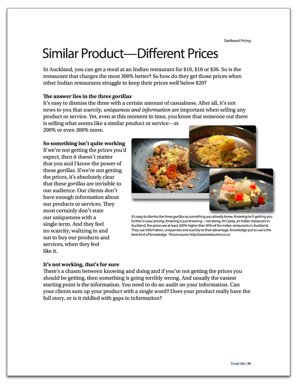 Increasing Pricing Strategy