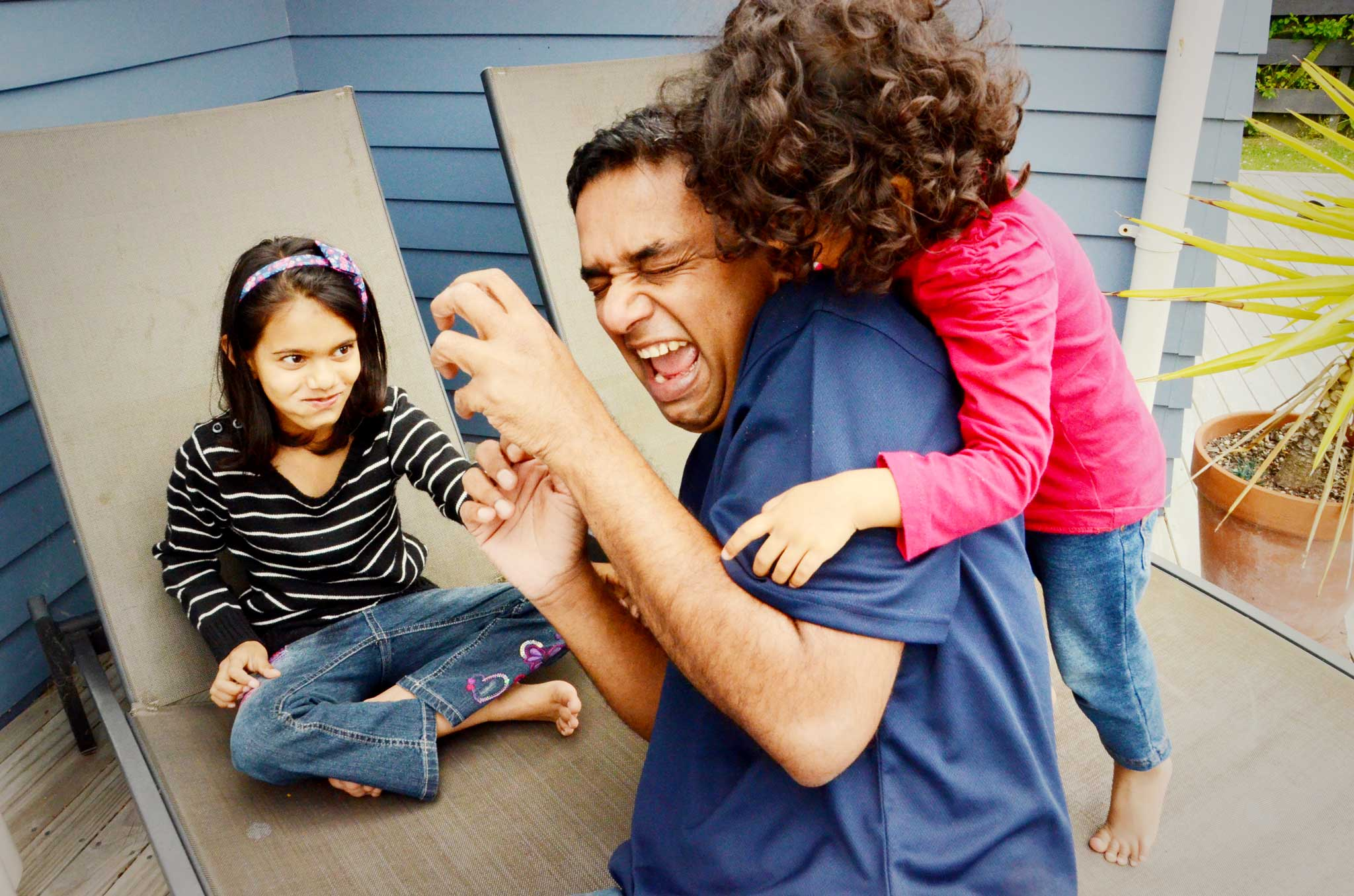 Sean D'Souza: The world's most willing babysitter: with my nieces