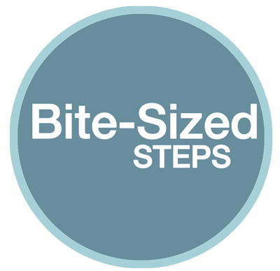 Bite-sized steps to presell product or services