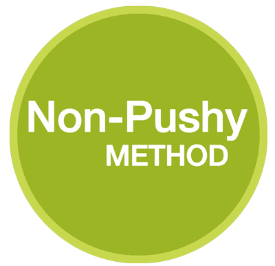 non pushy conversion method of pre-sell