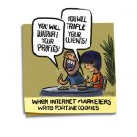 Friday Cartoon: Internet Marketers Fortune Cookies: Square Toon: Psychotactics