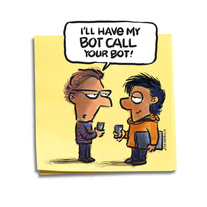 Friday Cartoon: Face_to_Face Marketing: Square Toon: Psychotactics