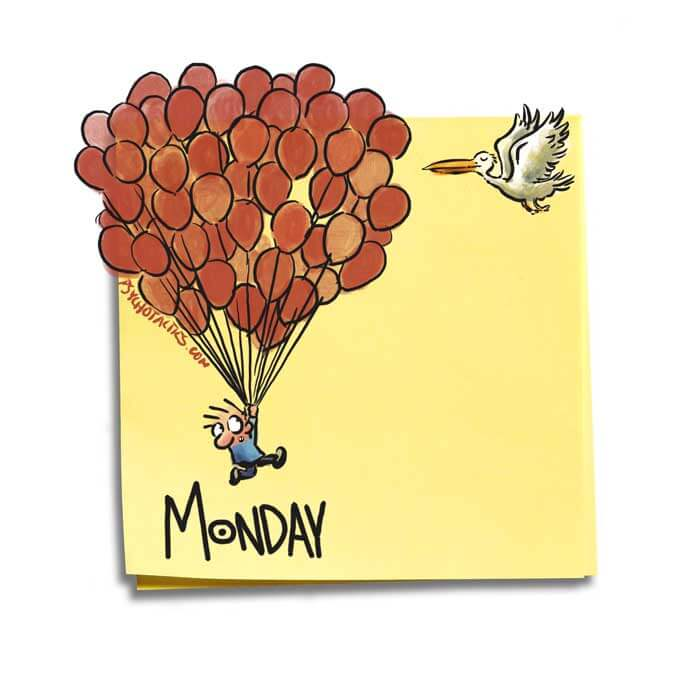 Friday Cartoon: Monday: Square Toon: Psychotactics