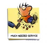 Friday Cartoon: Much Needed Service: Square Toon: Psychotactics