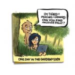 Friday Cartoon: Garden Of Eden: Square Toon: Psychotactics