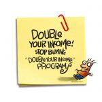 Friday Cartoon: Double Your Income: Square Toon: Psychotactics