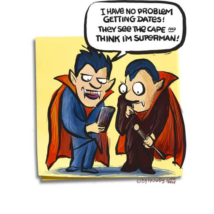 Friday Cartoon: I'm Superman: Square Toon: Psychotactics