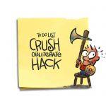 Friday Cartoon: To Do List: Square Toon: Psychotactics
